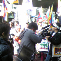チベット武力弾圧への抗議デモ(東京)と、日本のマスコミ
