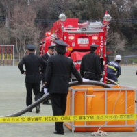 消防団の出初式