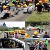 2年生の交通安全教室と3年生の初めての児童総会
