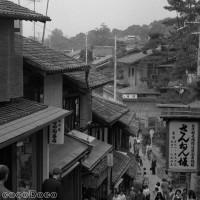 京都産寧坂 今昔