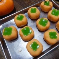 手作り和菓子 「柿」(練りきり)