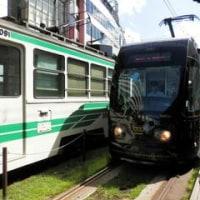 「コロッケ」さんの停留所案内が流れる熊本市電
