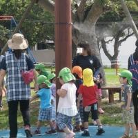 ミストシャワー 熱中症対策 児童公園 軟水利用 Fogging Mist