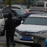 北京にて~すべてが冬支度へ・・・職員も、先生も、運動場も