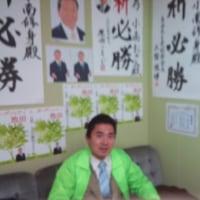 池田市長選駅立ち