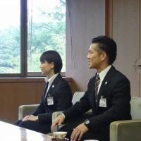 海外青年協力隊の3人の訪問 アフリカ3国へ