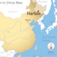 干支たちが、中国ハルビンへ出発