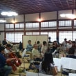 先日のオーケストラ千里山の練習(7月23日)