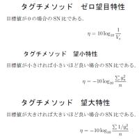 タグチメソッド(オフライン品質工学)