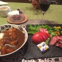 スレートプレートを使い オシャレ夕ご飯
