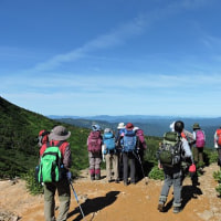 ロングトレッキング「④裏岩手連山縦走トレッキング」に行ってきました。快晴にめぐまれて・・・