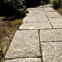 古い石で新しい道づくりの記