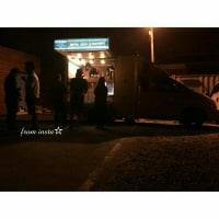 今日の撮影⑤~🎬  クォン・サンウ   チェ・ガンヒ主演『推理の女王』 最後のおやつの車😭😭😭