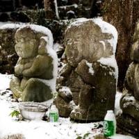 2017 雪を被りなおも500羅漢 2(篠栗八十八か所40番札所一の滝寺) 《糟屋郡篠栗町》