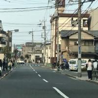 寺町と人気のコーヒーショップ
