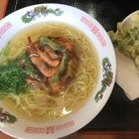 お昼はうどんの五右衛門~でも、食べたのは中華そばなのねん!