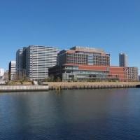 2月の豊洲:豊洲六丁目第二公園と東電堀運河の周辺 PART2