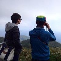 三原山頂へ行ってきました!