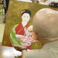 藤島先生の日本画入門と日曜特訓のおしらせ