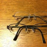 メガネのサイズ問題を解決。