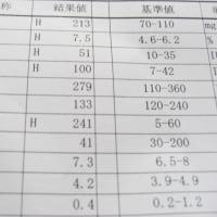 検査結果(´・ω・`)
