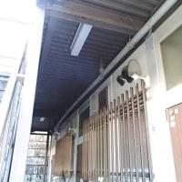 築年数の古い軽量鉄骨造のアパートの鉄骨階段の診断をしました