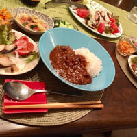 ハヤシライスなどの夕ご飯