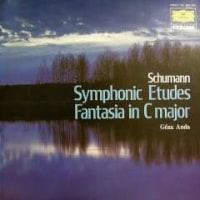 ◇クラシック音楽LP◇ゲザ・アンダのシューマン:交響的練習曲/幻想曲