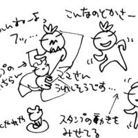 LINEスタンプの落書き再開〜〜。