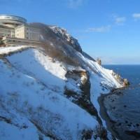 冬のパノラマ展望台