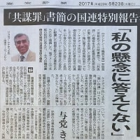 日本政府、国連報告者に抗議→国連人権部会との対立に発展か。戦前の国連脱退のよう。東京新聞