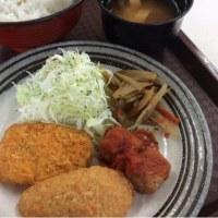 イカカツ・ササミカツ・肉団子トマトソース