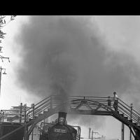 懐かしの山陰線・旧二条の跨線橋