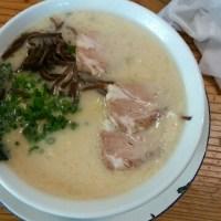 すがい とんこつラーメン+マグロ丼