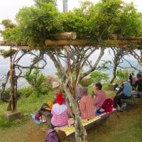 21 大平山(631m:山口県防府市)登山(続き)  昼食タイム