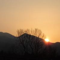 富士と日の出