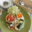 今週のマクロビオティックランチは「地野菜のロースト」!!