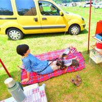 森のまきばオートキャンプ場でキャンプ(その1)♪