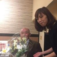 二川取締役送別会