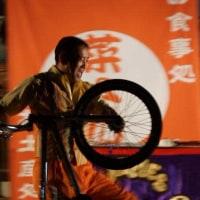 自転車とダンス・・・