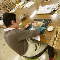 教室紹介です。仕事帰りに日本の美知る 日本画を学ぶ