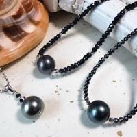 真珠・琥珀セール 黒南洋真珠編