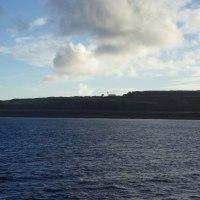 2016年小笠原村硫黄島慰霊墓参(334)小笠原丸で硫黄島を周回(45)硫黄島の北側から島の北東側全体