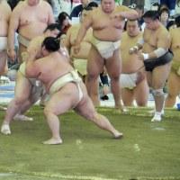 大相撲水戸場所~握手会・稽古~