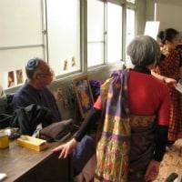 サリー着付けとインド舞踊のワークショップ