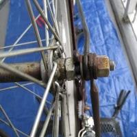 ママチャリ 26インチのタイヤ・チュウブの交換(後輪、前輪)を行いました。
