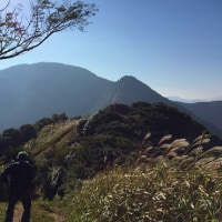 小文字山366m~妙見山519m~足立山597.3m~戸ノ上山517.8m(福岡県)