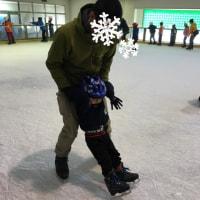 初スケートとたっち
