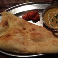 思いがけずインド料理のお店へ