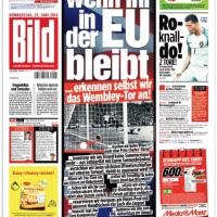 ドイツの大衆紙「Bild」、EU残留なら「66年サッカーW杯のゴール認める」